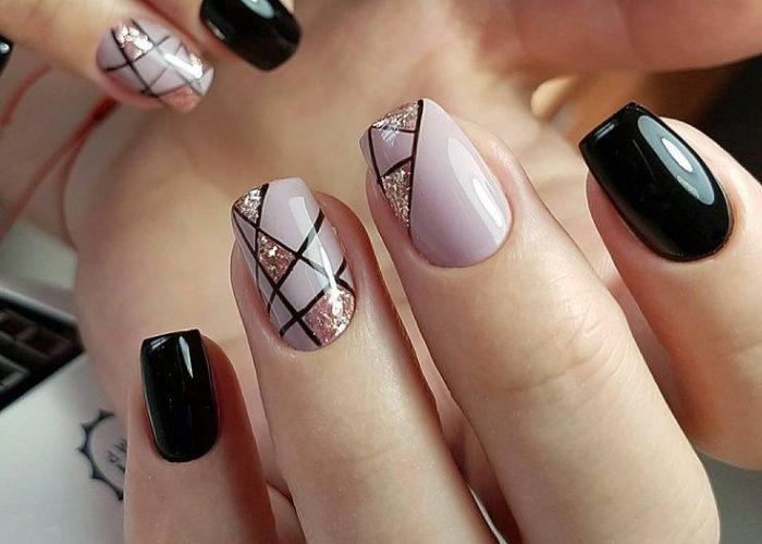 новинки в дизайне ногтей