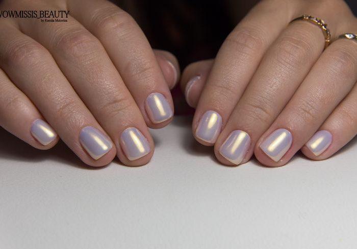 дизайн втирка короткие ногти