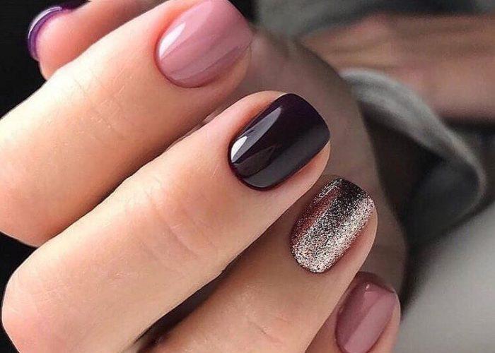 короткие ногти дизайн
