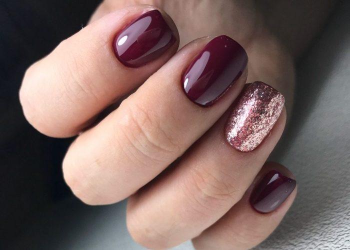 маникюр на короткие ногти, дизайн 2019 года