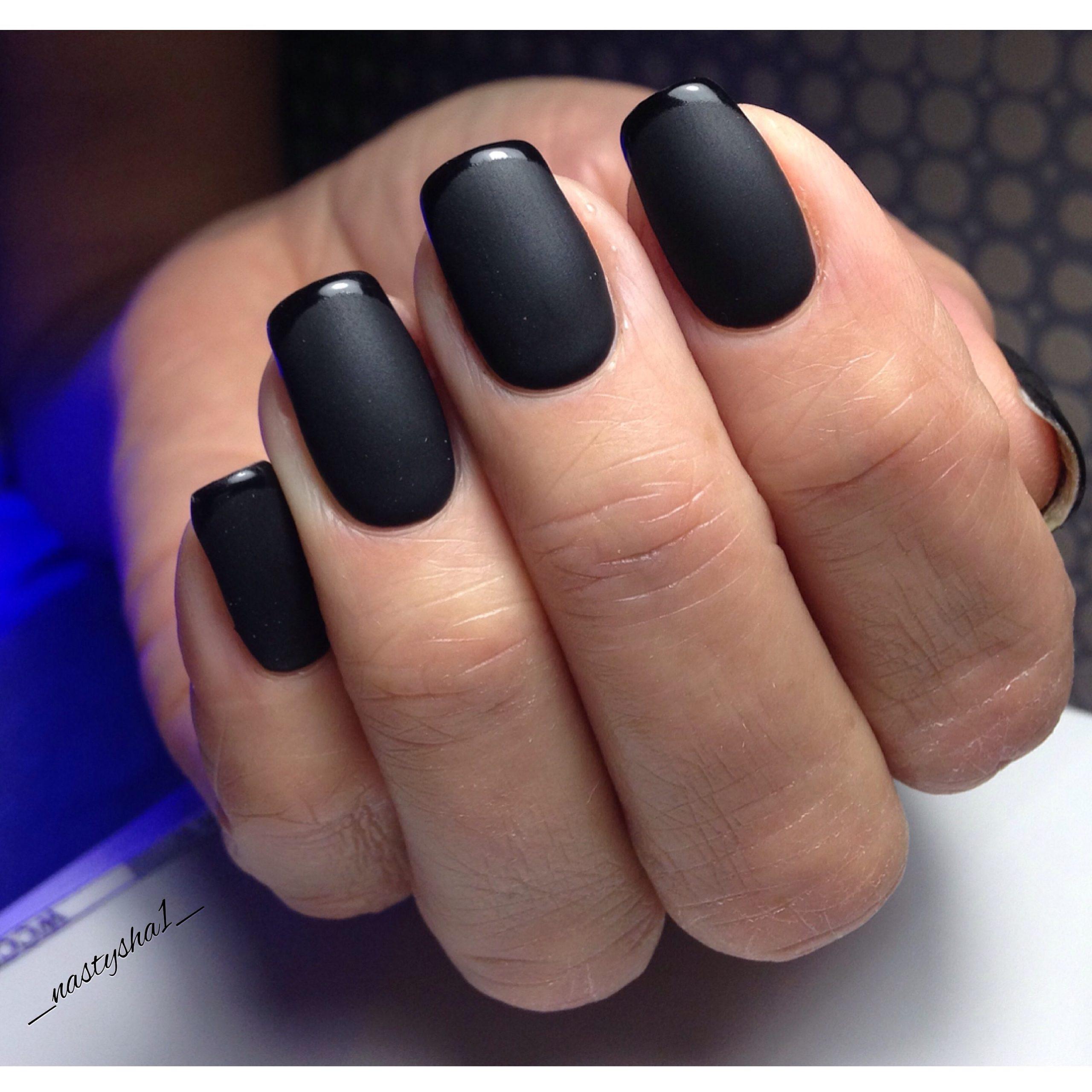 Фото ногтей матовые и глянцевые
